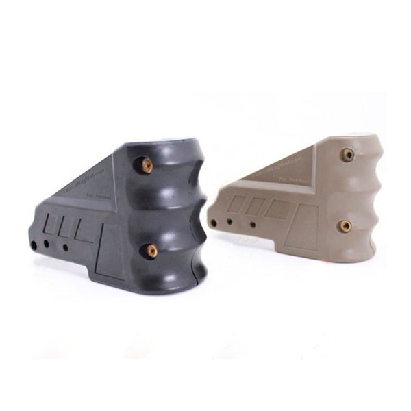 Caricatore tattico ben impugnatura per fucile da caccia AR15 M4 M16 nero / terra scura