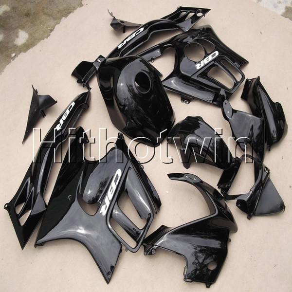 Botls + Gifts capucha de motocicleta negra para HONDA CBR600F3 1995-1996 F3 95 96 plástico ABS Carenado