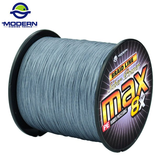 1000M MODERN Fishing Line Super Strong Japan Multifilament PE Braided Fishing Rope 8 Strands Braided Wires 20 to 100LB