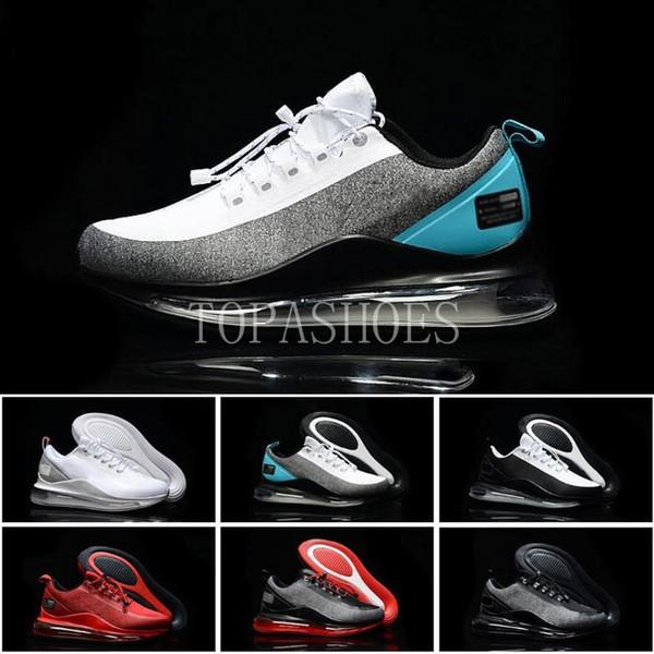 2019 New Style Utility Homens Coxim Calçados Esportivos mulheres alta Qualidade Preto Vermelho Branco Cinza reflectividade Designer Athletic Sneakers tamanho 7-11
