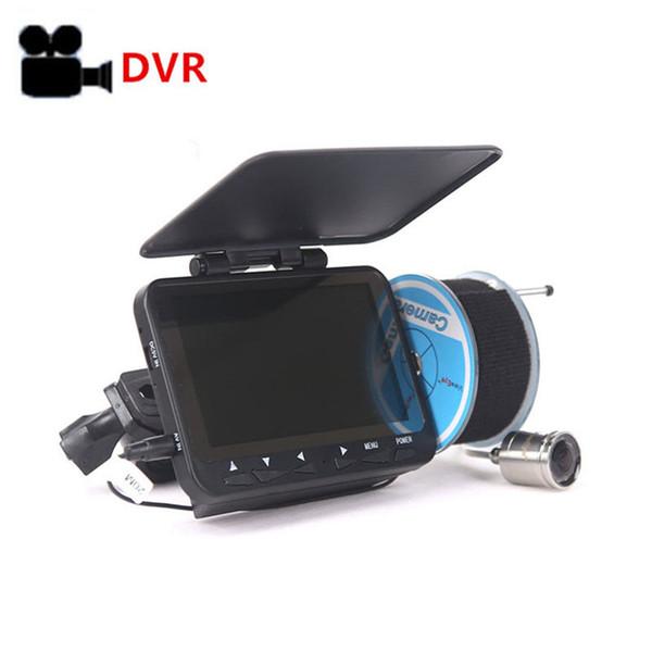 HD 1000TVL Caméra de pêche sur glace sous-marine Enregistrement vidéo Roue de mer Vidéo Fish Finder