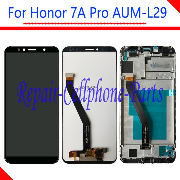 5.7 inç Tam LCD Ekran + Dokunmatik Ekran Digitizer Meclisi Için Çerçeve Ile Huawei Onur 7A Pro AUM-L29 AUM-L41