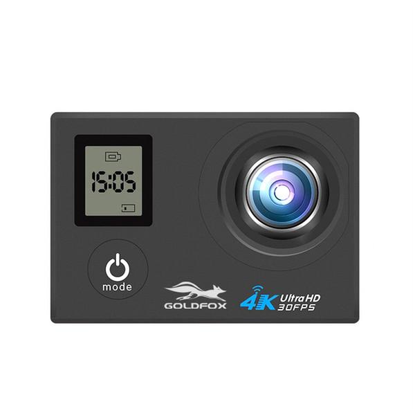 H10 4K WIFI Cámara de acción deportiva de 2 pulgadas LCD de pantalla dual Mini casco Cámara Go Impermeable Pro DVR DV Videocámara de grabación de video