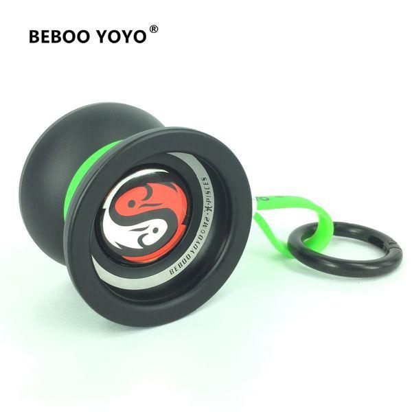 Beboo YOYO профессионального йойо M2 Pisse алюминиевый сплав мне установить Yo Yo + перчатка + 3 веревки созвездие 12 классической игрушку диаболо подарок V191206