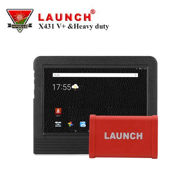 Original Launch X431 V+ Wifi/Bluetooth Global Version HD Heavy Duty Truck Diagnostic Module