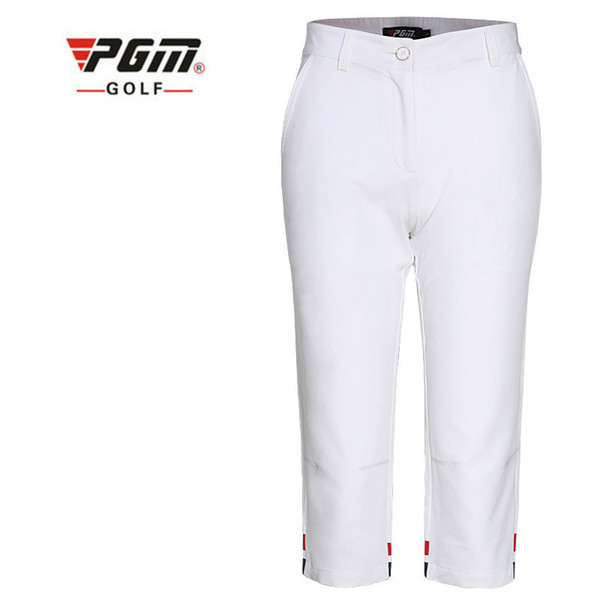 2018 PGM new summer Golf Clothing Golf Ladies' breathable suit Short Sleeved shirt and Cropped trousers for women size XS-XL