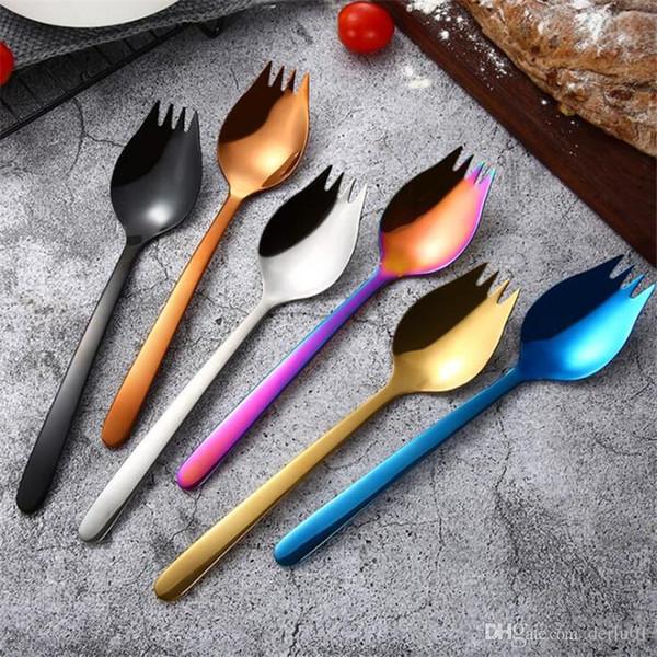 Faca de talheres de Portugal e colher garfo 304 utensílios de mesa ocidental de aço inoxidável