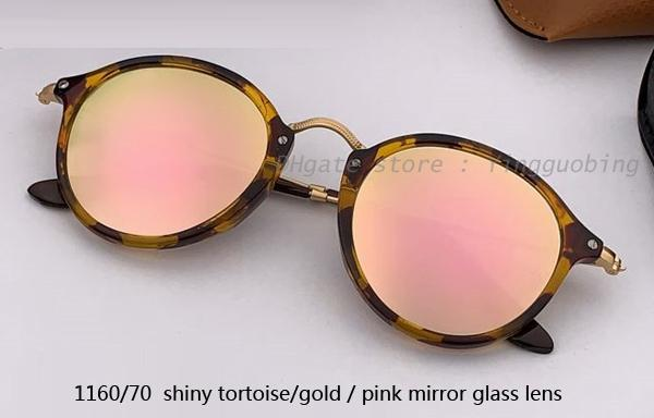 1160/70 shiny tortoise gold/ pink mirror