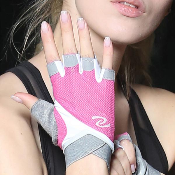 Fitness gloves female half finger equipment training yoga riding gym sports gloves