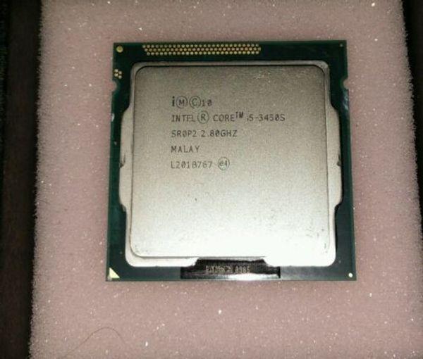 Processeur CPU 1155 Intel Core i5 3450S 2,80 GHz Quad Core 6M