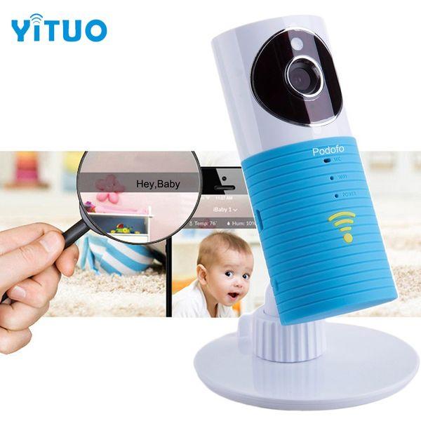 Heißer 720 P HD Clever Dog Wifi Home Security IP Kamera Baby Monitor Intercom Smartphone Audio Nachtsicht mini CCTV mit anzeige li