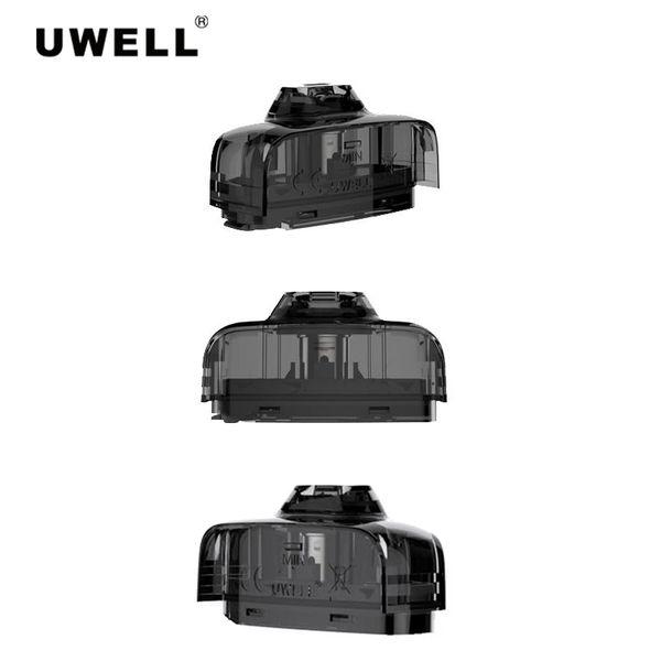 Uwell Амулет стручки картриджи 2.0 мл 1.6 ом многоразового замена головки для амулета часы стиль стручок системы Vape комплект 100% подлинный