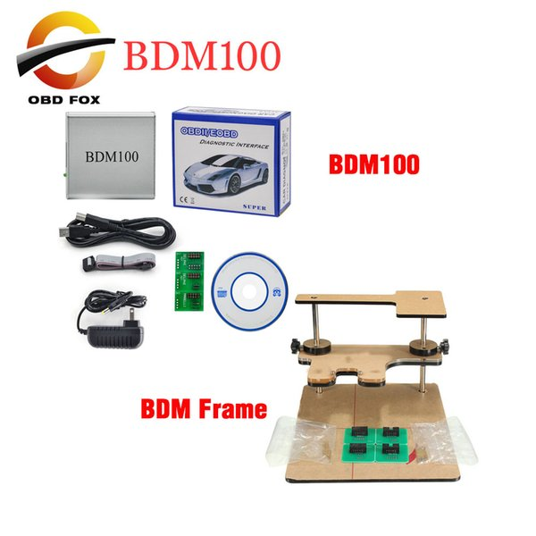 BDM 100 ECU BDM 1255 Programmer BDM100 CDM1255 with BDM Frame adapter 100% good quality DHL free shipping