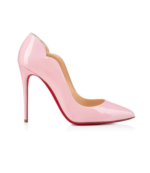 Free Shipping So Kate Styles 8cm 10cm 12cm High Heels Shoes Nude Color Genuine Leather Point Toe Pumps Rubber