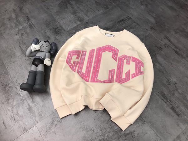 19SS novas hoodies GG famosos homens de luxo hoodie das mulheres dos homens pullover casal moda casual camisola tendência camisola com capuz