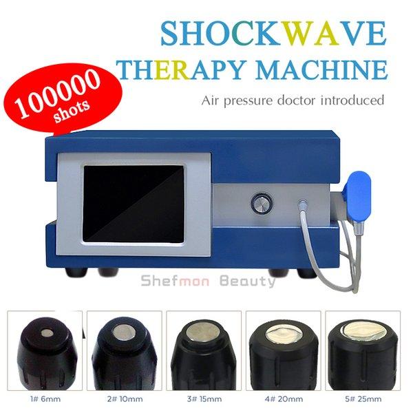 Produit de soins de santé Shockwave Anti Cellulite Machine Stimulation électrique Air Pression Dépression de la douleur corporelle Enlèvement de choc Machine de thérapie physique