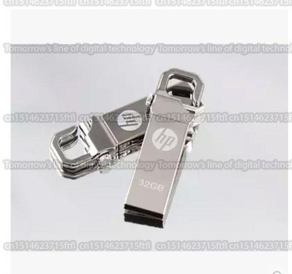 Dhl versand 8 gb / 16 gb / 32 gb / 64 gb / 128 gb / 256 gb original hp v250w usb flash drive / hooke pendrive / hochwertige usb 2.0 speicherstick