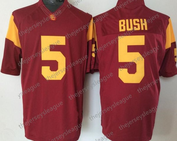 5 Reggie Bush Red