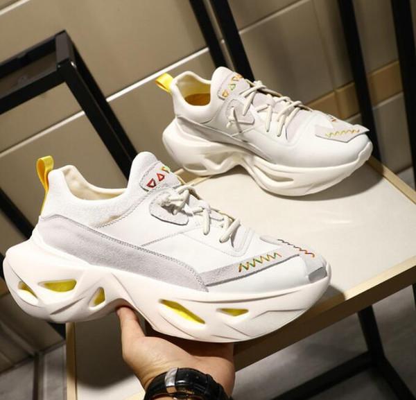 Static 3M reflexivo homens Reino Unido sapatos de grife moda LUX mulheres sapatos de plataforma sapatos casuais amantes 35-44