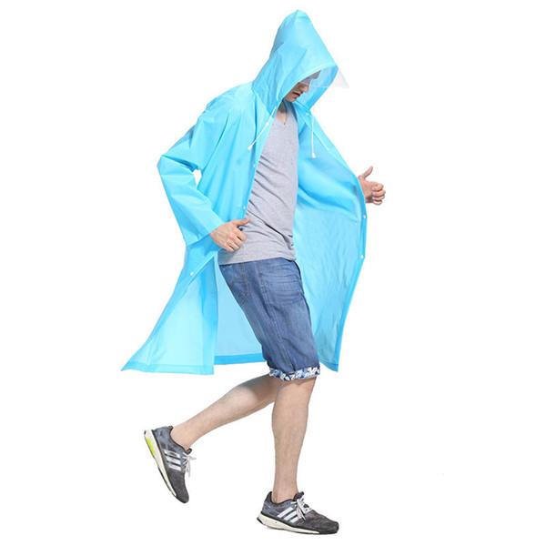 Mode féminine Raincoat imperméable Rain Jacket épaissie Poncho femmes Transparent Camping Men Outdoor Voyage Rainwear