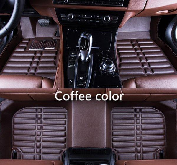 Aplicables a Kia Borrego 2014-2017 coche delantero y trasero alfombrilla accesorios almohadilla antideslizante alfombra de cuero resistente al agua alfombrilla de coche