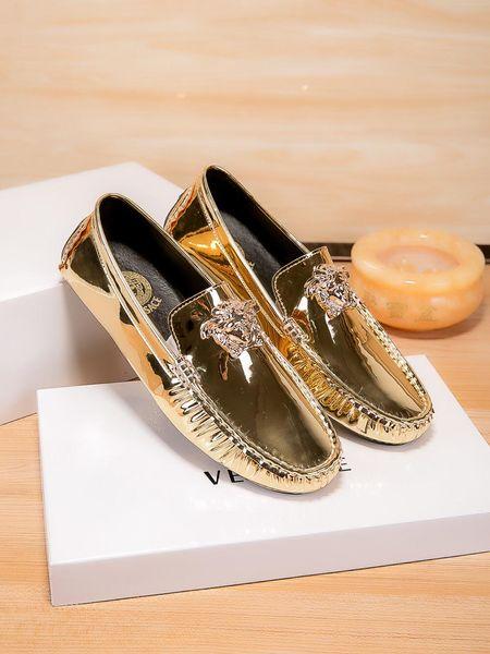 Marca de couro de Patente Primavera Camurça Homens De Couro Borla Mocassins Homens Casual Sapatos de Condução Masculino Sapatos de Salto Plana Barco