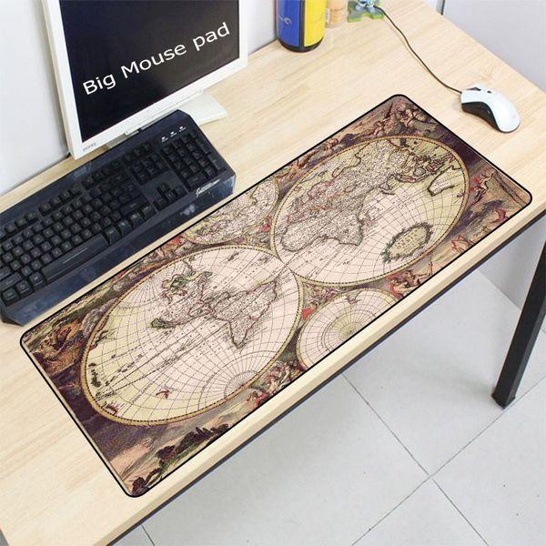 Velho 400 * 900 * 3mm XXL Grande Mouse pad gamer Mousepad Teclado tapete de Mesa de Escritório Almofada Home Decor Para CSGO DOTA