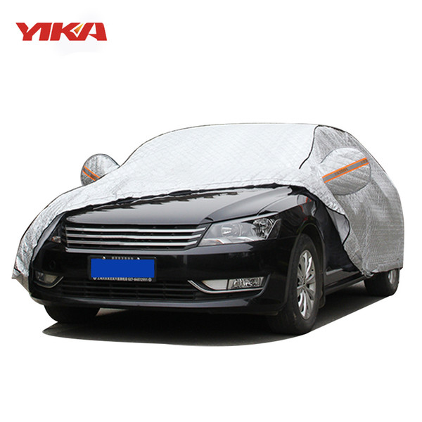 Hail Protection Car Cover >> Yika Full Car Cover Plus Cotton Thicken Case Sunshade Sun Rain Hail Protection Car Snow Cover For Winter 30 20 Degree Covers For Cars Outside Custom