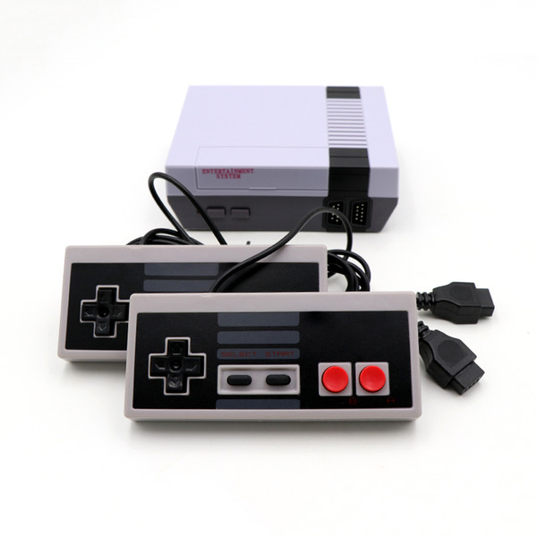 best selling 2019 New Mini Video Handheld Game Console Can Store 620 Games NES And Retail Boxs Free Shipping