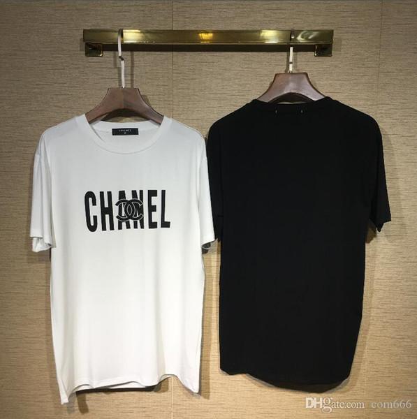 19 Colors MODE Full logo Letter Printed menT-shirt Short Sleeve women Hip Hop Street Outdoor wear Style Tops Tee T Shirt Homme 360