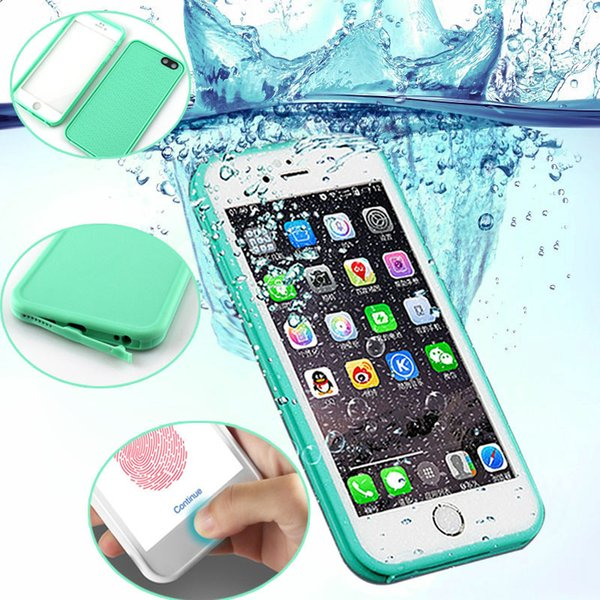 For Iphone X Xs Max Xr 8 7 6s Plus 5s Case Slim Luxury Shockproof Hybrid Waterproof Soft Silicone Phone Bag Outdoor Cases Cover C19041301