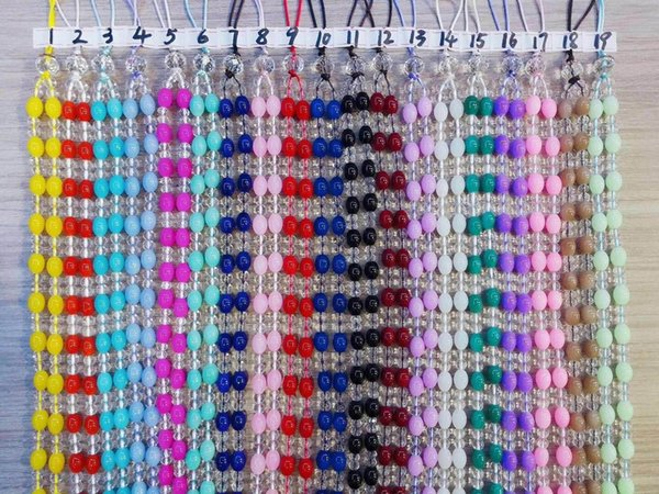Luxury crystal diamond Bead wrist hand cell phone mobile chain straps keychain Charm Cords DIY Hang Rope Lanyard For Keys mobile strap