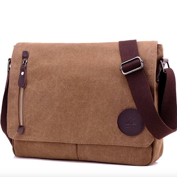 Kvky Direct Selling Cell Phone Pocket 2019 New High Quality Men's Canvas Bags Bolas Masculina Messenger Bag Shoulder