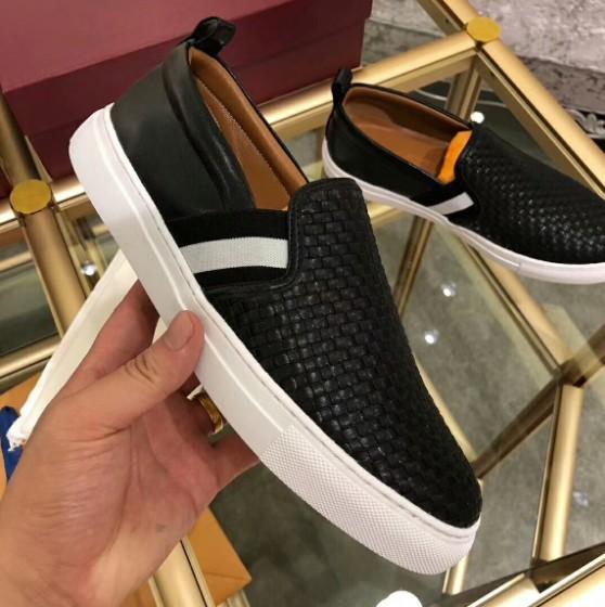 Hot SALE Herren Designer-beiläufige Schuh-Mix Farbe Echtes Leder Männer Dad Sneakers Mode Schuhe mit Kasten