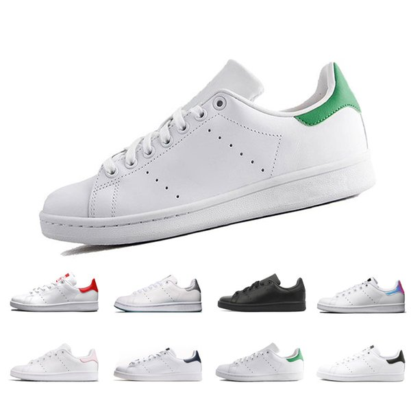 sports shoes 685a7 5d576 2019 Raf Simons Stan Smith Spring Copper White Pink Black Fashion Shoe Man  Casual Leather Brand Woman Man Shoes Flats Sneakers Sneakers Office Shoes  ...