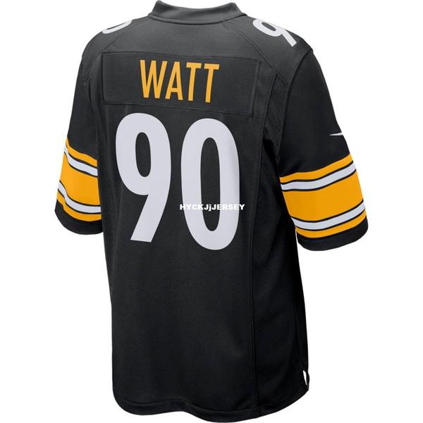 Cheap Stitching NCAA Brand New 2019 Top #90 TW Game Edition Black Jersey Big And Tall Size XS-4XL,5XL,6XL Men Football jerseys