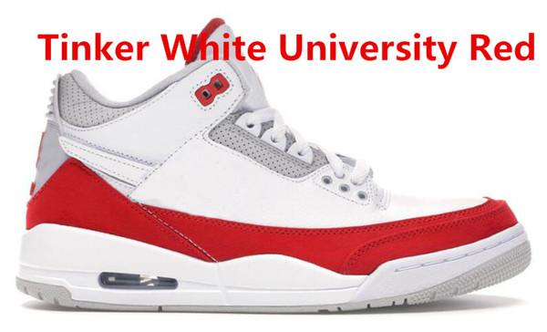 Tinker White University Red