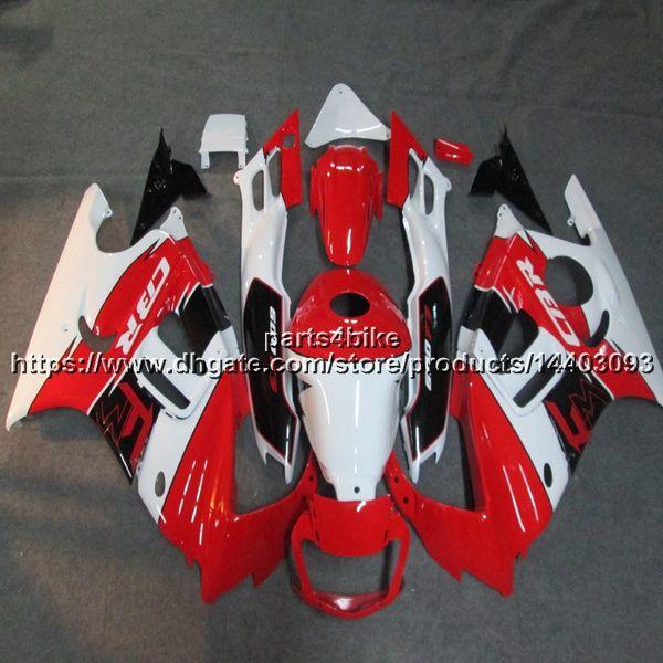 Custom + Винты красный белый Body Kit мотоциклетных панелей для HONDA 95-96 CBR600F3 1995-1996 ABS Пластиковый обтекатель мотоцикла