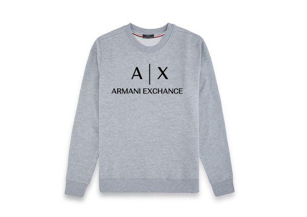 Designer-Pullover mit Monogramm-Baumwolle für Herbst und Winter für Damen und Herren im Streetstyle-Stil