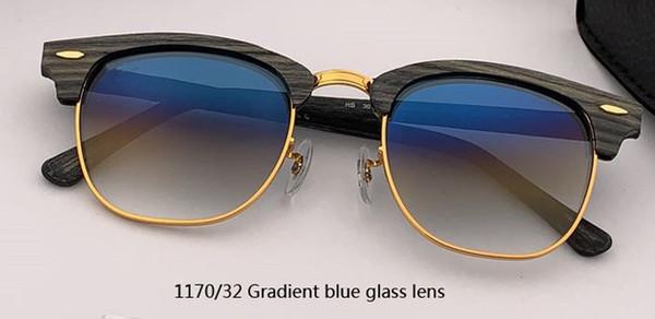 Lente in vetro blu sfumato 1170/32