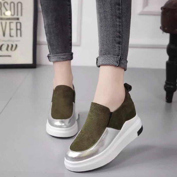 2019 Chaussures Casual Sneaker Trainers TOP-Quality Fashion Walking Trainers Sports Chaussures de créateurs de luxe avec belle boîte pour femme 058