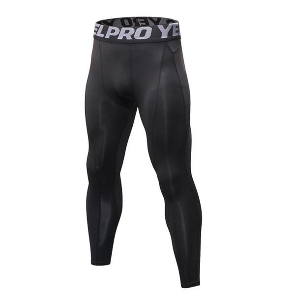 2019 Mens Joggers Sexy pantalones ajustados hombres pantalones de compresión hasta el tobillo pantalones masculinos pantalones de chándal ocasionales flacos M-XXL