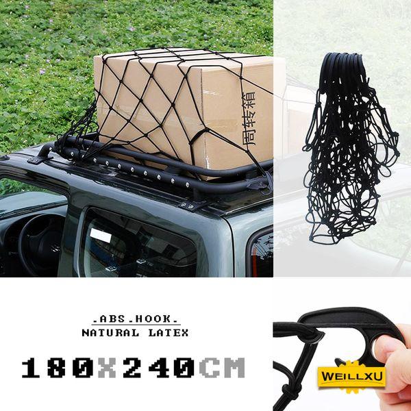 Elastic Mesh Cargo Net Car Van Rack Storage Bag Luggage Organizer Holder 6A