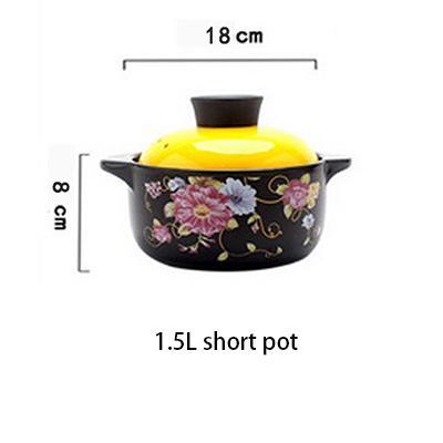 1.5L kurzer Suppentopf