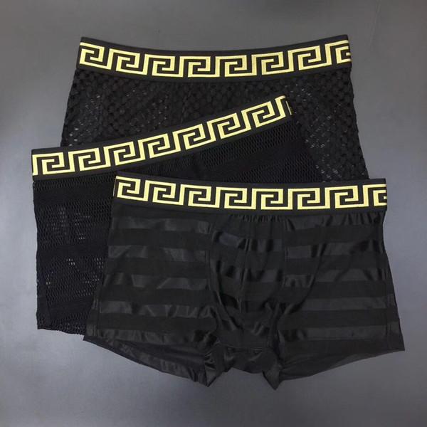Brand pants Men Boxer Soft Breathable Underwear Male Comfortable Printed Panties Underpants Cueca Boxershorts Homme For Men