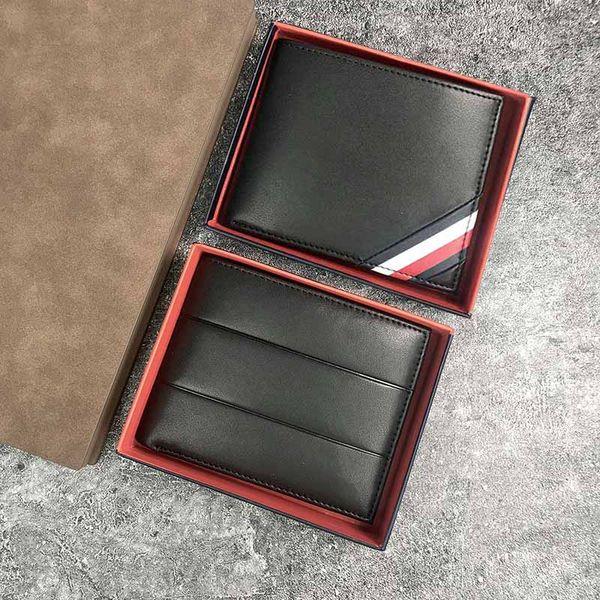 Code 449 450 fa hion men wallet genuine leather de igner men wallet hort man pur e with coin pocket card holder high quality, Red;black