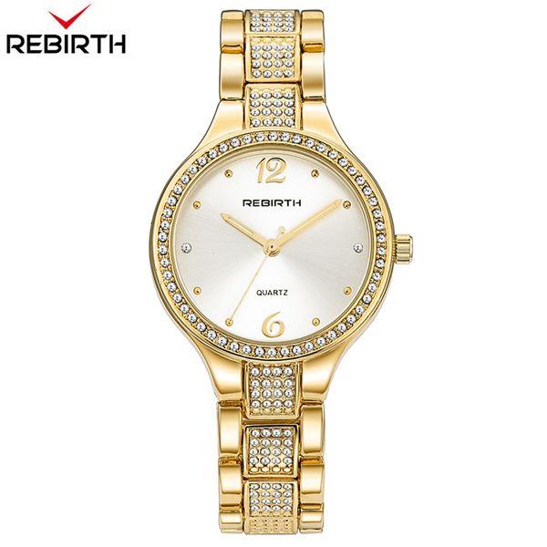 Dorado Damas Pulsera Inoxidable Elegante Mujeres De Cuarzo Diamante Lujo A Relojes Compre RENACIMIENTO Reloj De Acero De Montre De De Reloj Femme ZXiOkPu