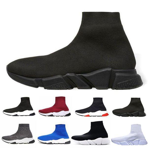 OG Çorap Ayakkabı Rahat Ayakkabı Hız Eğitmen Yüksek Kaliteli Sneakers Hız Eğitmen Çorap Yarışı moda lüks erkek kadın tasarımcı sandalet ayakkabı