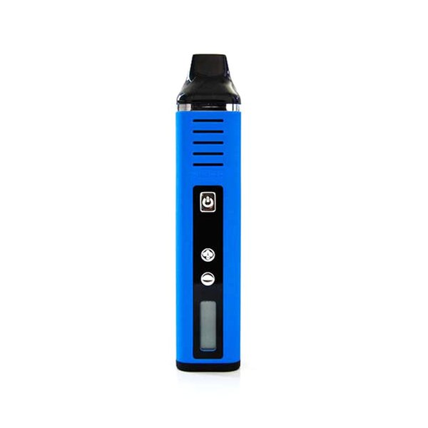 Top quality Authentic Pathfinder 2 cigarette dry herb vaporizer with LCD display starter kits vape pens 2200mah battery vaporizer