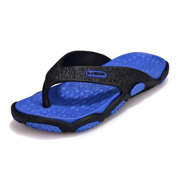 New Men's Cool Flip-flops Waterproof Korean Version of Non-slip Personality Outdoor Slippers Beach Shoes